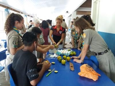 Culinária Mateira na  Escola Estadual Professor Honório Rodrigues Amorim