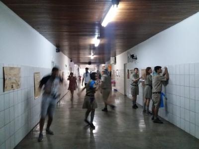 Jogos na  Escola Estadual Professor Honório Rodrigues Amorim