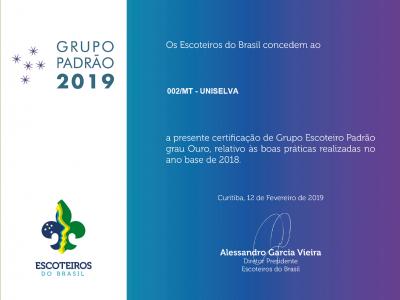 Uniselva conquista Grupo Padrão Ouro pelo 3º ano consecutivo