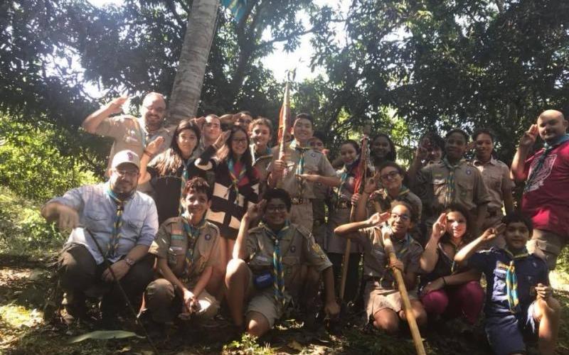 Tropa Marechal acampa na região do Coxipó do Ouro