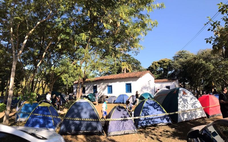 Alcateias do Grupo Escoteiro Uniselva realizam acampamento