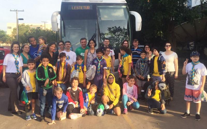 Lobinhos participam de Acantonamento em Nova Mutum